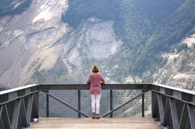 Vista sul Monte Toc