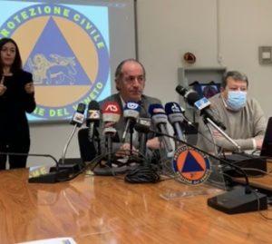 Zaia conferenza stampa 31 ottobre 2020