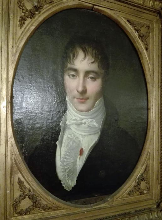 Appiani (attribuito), ritratto maschile, 1810ca