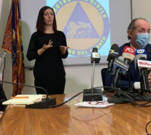Luca Zaia conferenza stampa 19 novembre 2020