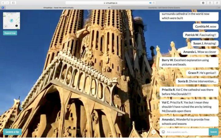 Virtual trip Barcellona