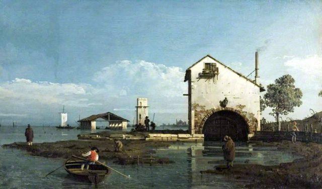 Bernardo Bellotto, Torre di S. Giuliano