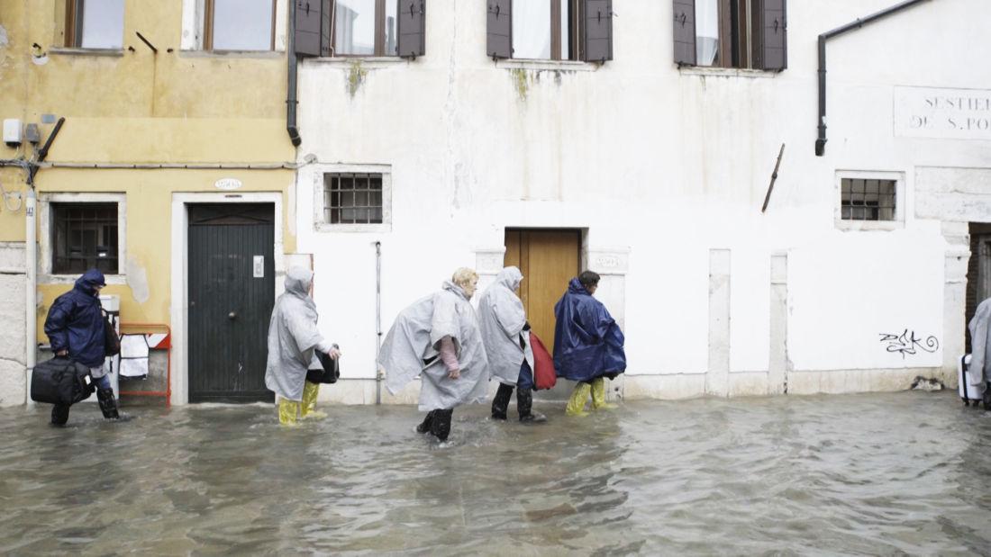 12 novembre: la terribile notte di Venezia