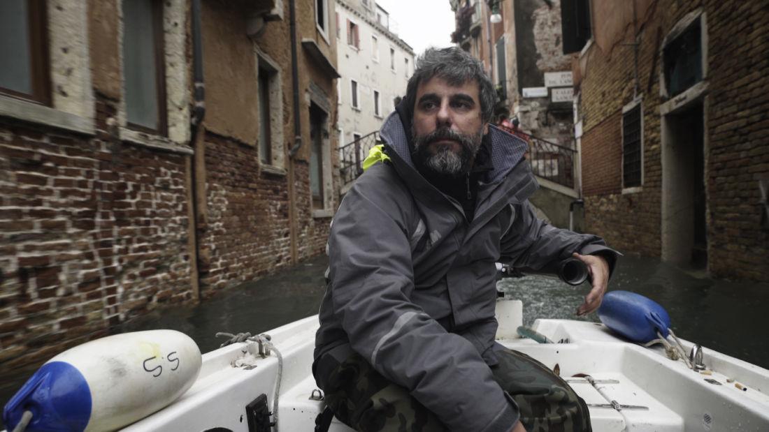 Il regista Giovanni Pellegrini