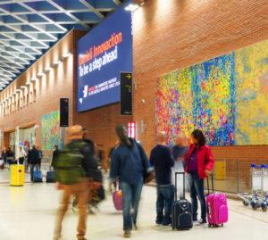 Le opere di Fabio Bianco all'aeroporto Marco Polo di Tessera