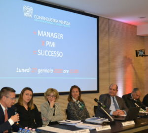 Evento di presentazione del progetto + Manager X PMI = Successo, nel gennaio 2020