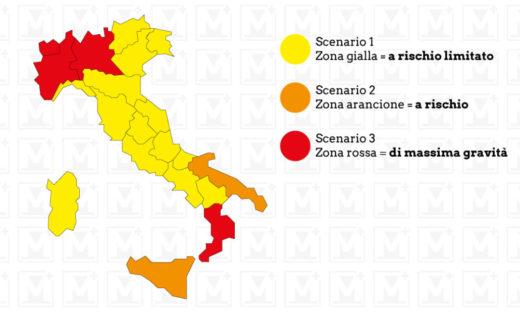 Ufficiale: il Veneto è zona gialla
