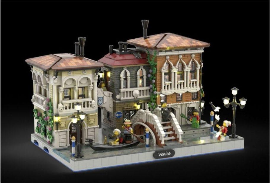 La Little Venice di Bricky_Brick @ Lego Ideas 2020