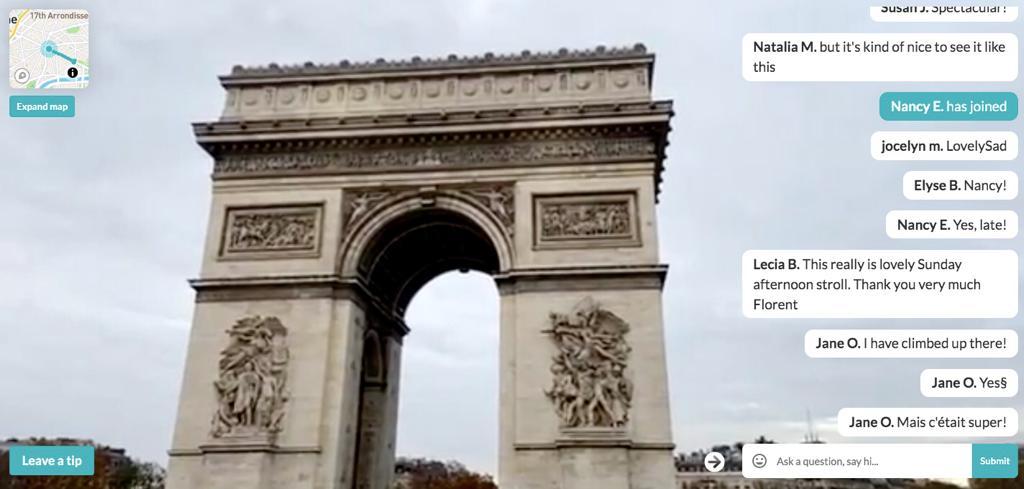 Virtual trip Parigi