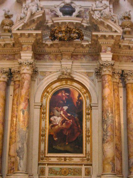 Piazzetta Giambattista (attribuito), San Francesco in estasi, 1729, Vicenza, Santa Maria Araceli