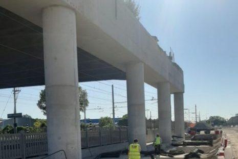 Porto Marghera: procedono i lavori per la nuova viabilità di accesso alla zona industriale