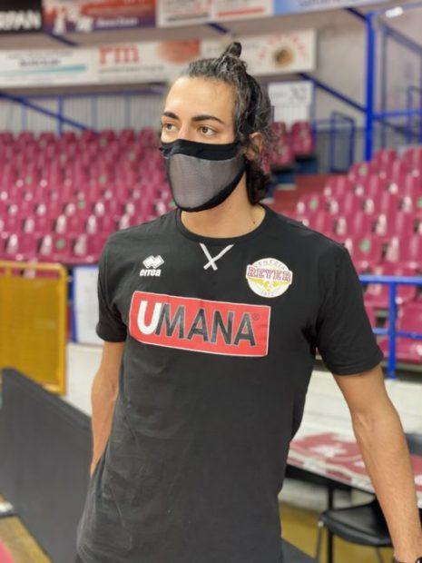 Le mascherine sportive della Reyer