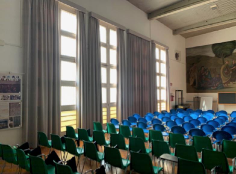 L'aula magna del Franchetti