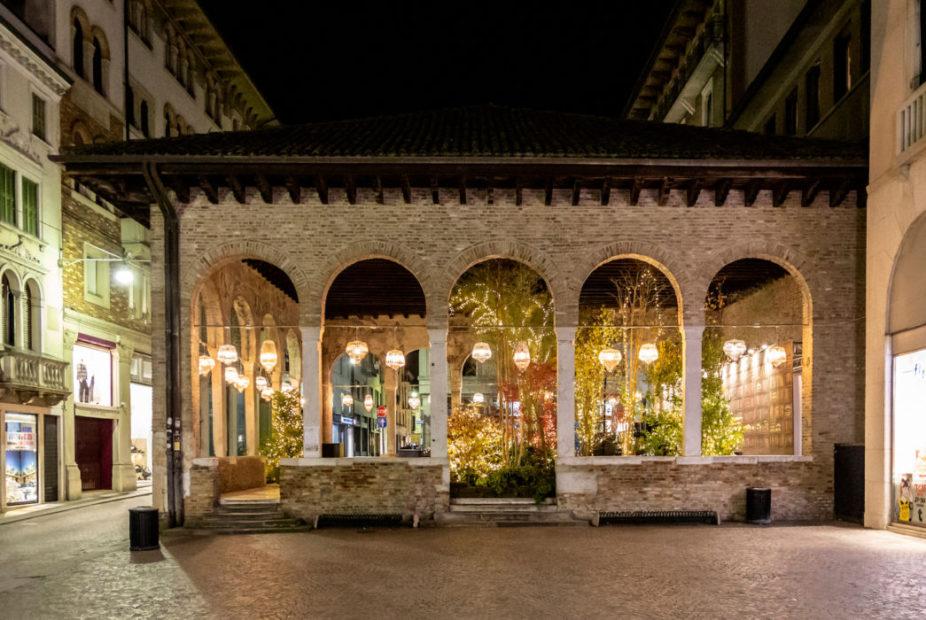La loggia incantata del Natale di Treviso