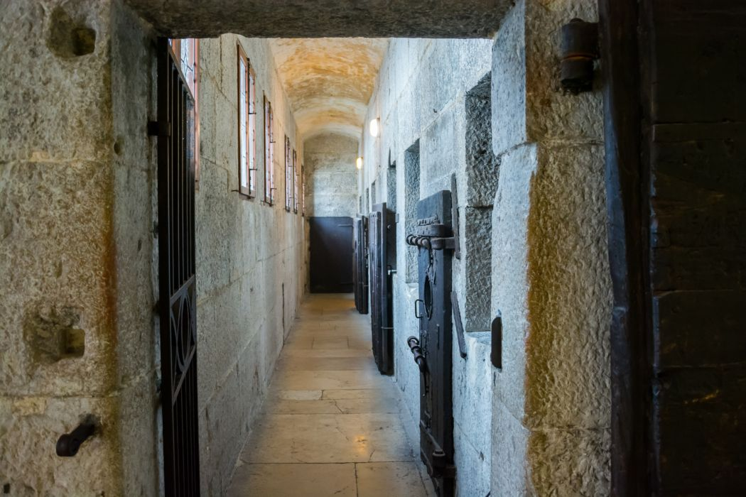 "Le celle dei ""Piombi"", a Palazzo Ducale, Venezia"