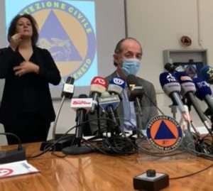 Coronavirus Presidente regione veneto Luca Zaia conferenza stampa 01 dicembre 2020