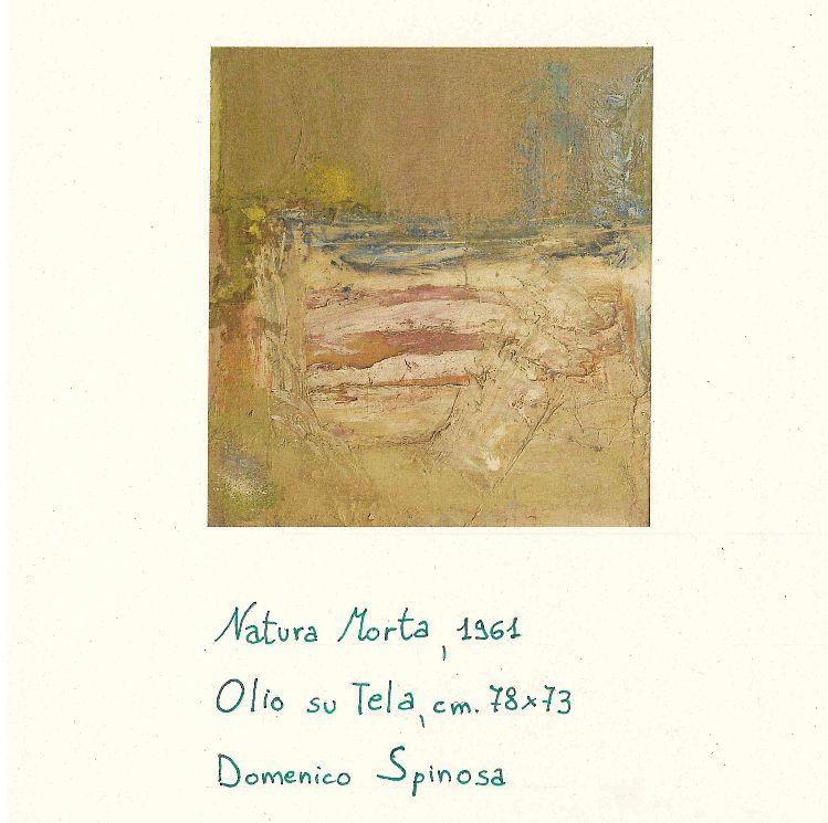 Natura morta Domenico Spinosa