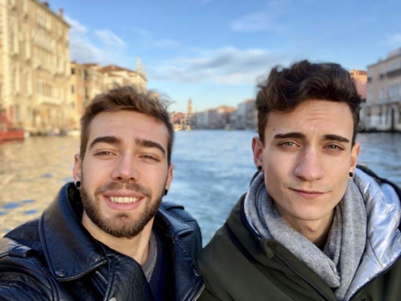 Nico&Teo per i canali della città di Venezia Twitch