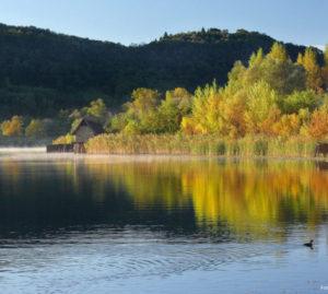 Parchi dei laghi della Vallata Revine Lago Boschi a Natale