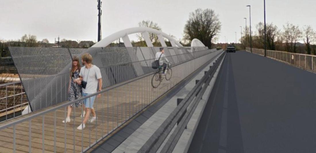 Una passerella ciclopedonale unirà Chirignago e Marghera