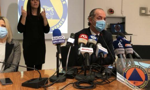 """Coronavirus. Veneto verso la conferma arancione per l'""""alto rischio"""""""