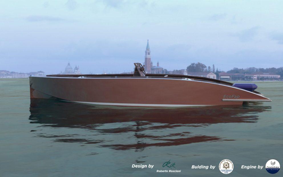 Eco Fap: la nuova barca elettrica progettata per Venezia
