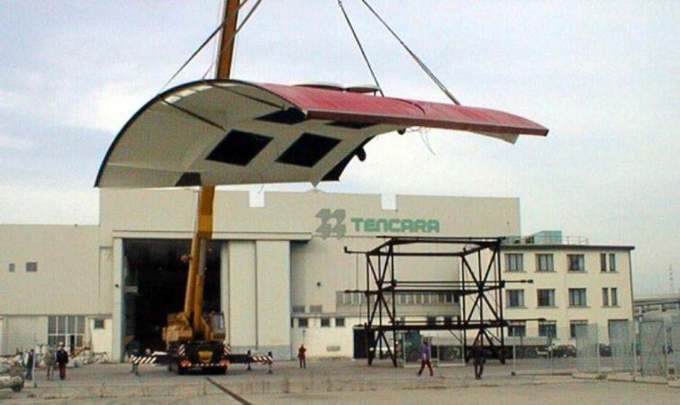 Fasi di costruzione Moro di Venezia-cantieri Tencara
