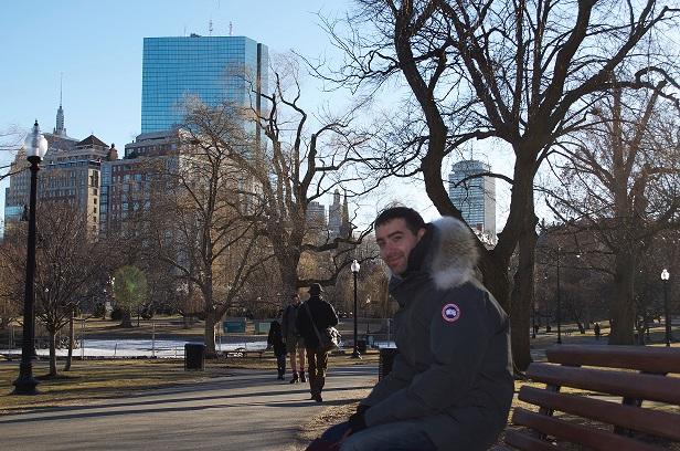 Gianpaolo Parise a Boston
