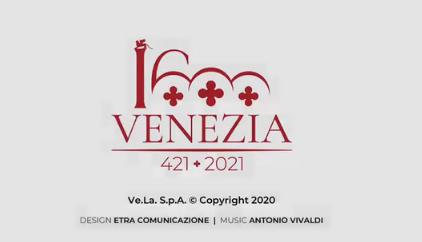 logo 1600 anni Venezia
