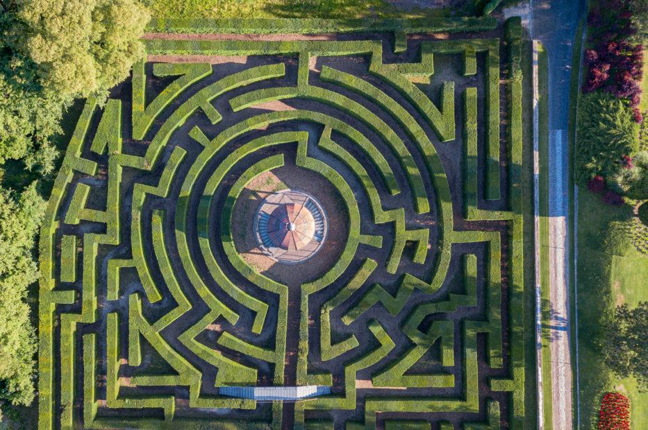 Parco Sigurta labirinto di bossi