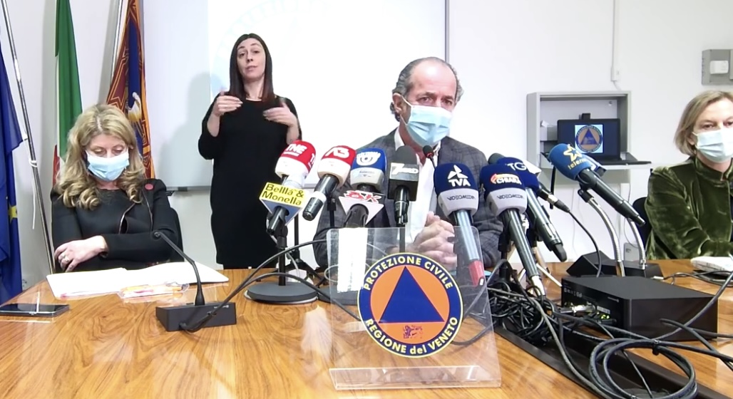 "Coronavirus: 4 varianti ""preoccupanti"" in Veneto"