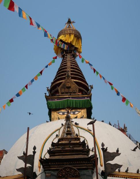 Nepal Katmandu, stupa del cortile di Katesimbhu