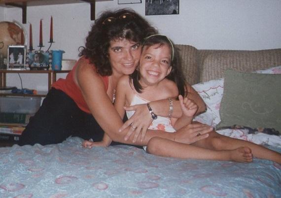 Antonia Bianco con Florencia femminicidio