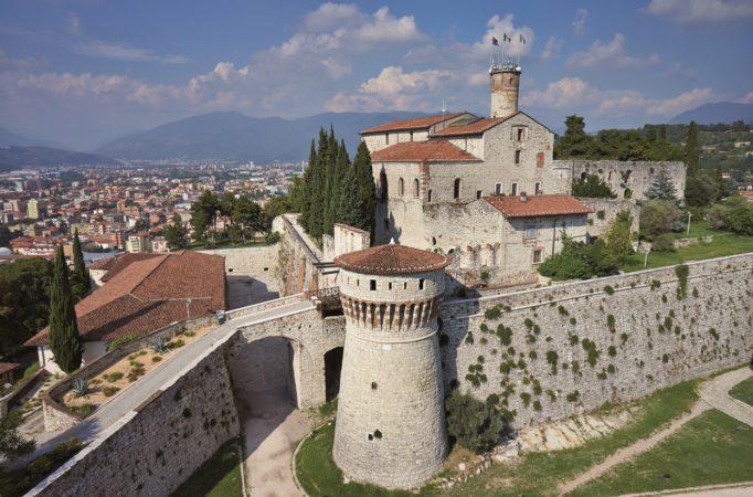 Brescia, Castello - Foto Archivio fotografico Comune di Brescia