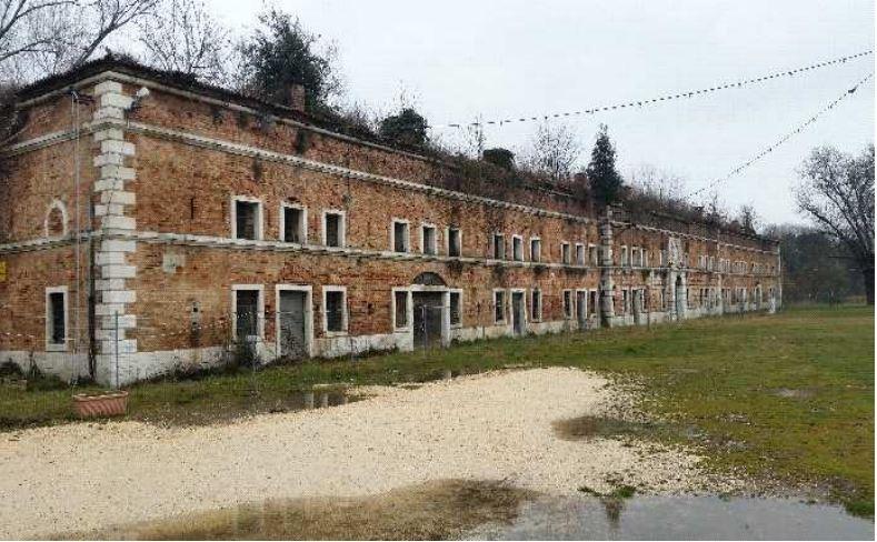 Casermetta francese a Est (edificio n. 9) Forte Marghera
