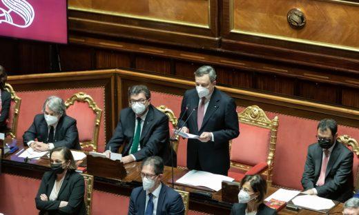 Il primo discorso di Mario Draghi in Senato. Il testo integrale