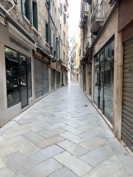 Negozi e attività chiuse Venezia- Covid19