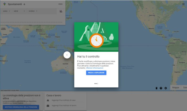 Privacy mappe Google