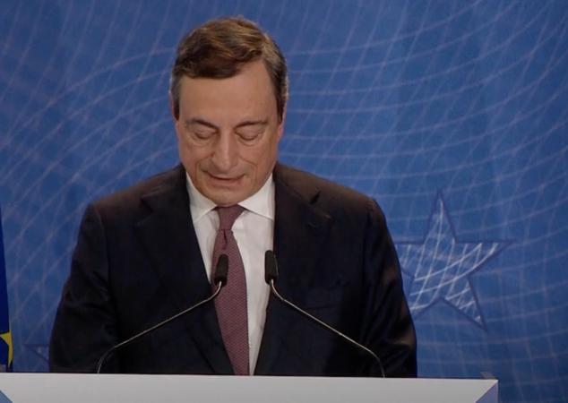 Mario Draghi, già Presidente della BCE dal 2011 al 2019