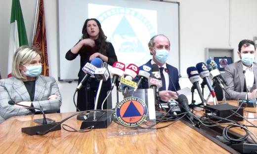 Coronavirus. Il Veneto chiede al Governo revisione dei parametri DPCM