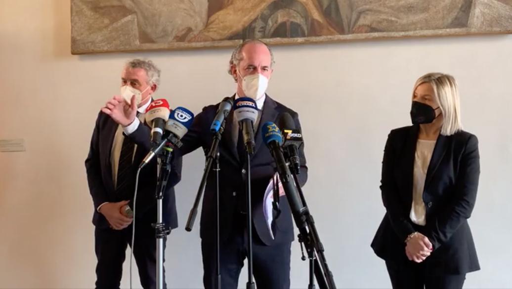 Veneto: numeri da zona gialla verso la nuova valutazione