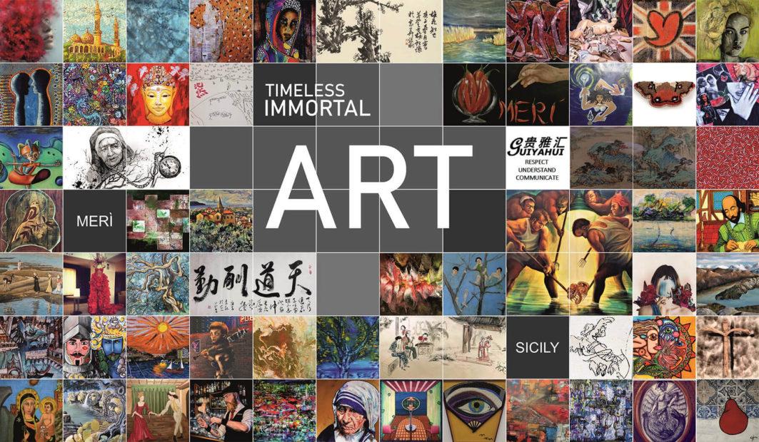 La Timeless Immortal Art di Merì (Sicilia) che coinvolge il mondo intero