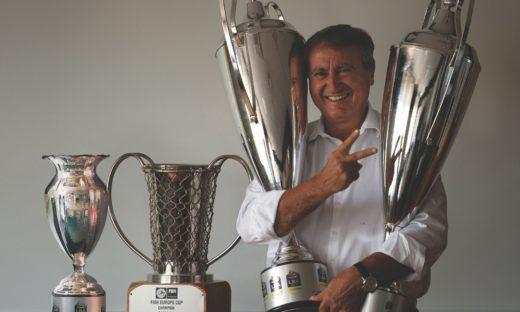 """Luigi Brugnaro """"Stella d'Oro al Merito Sportivo"""" del Coni"""