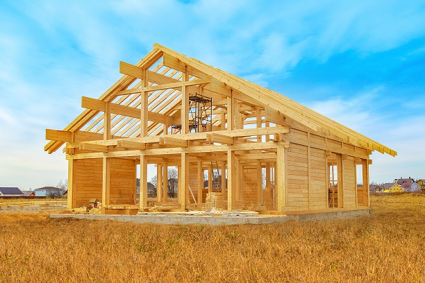 casa in legno struttura