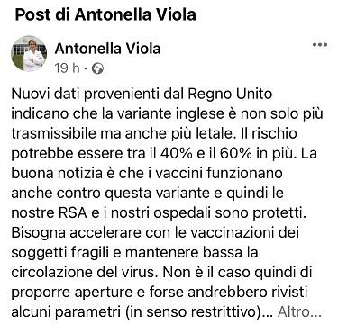 post di Antonella Viola