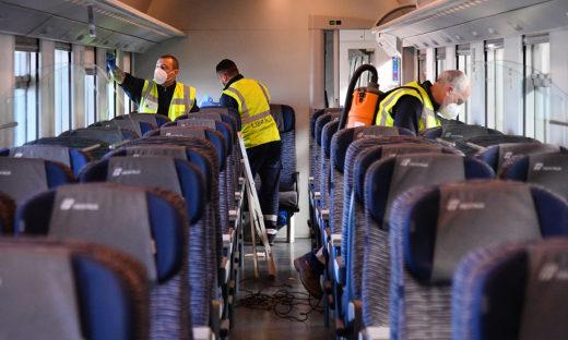 """Trenitalia prima compagnia ferroviaria al mondo a ottenere la """"Biosafety Trust Certification"""""""