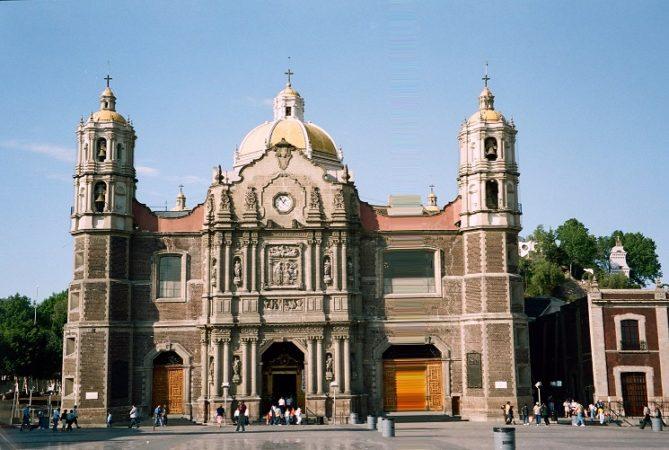 Citta del Messico, basilica di Nostra Signora di Guadalupe