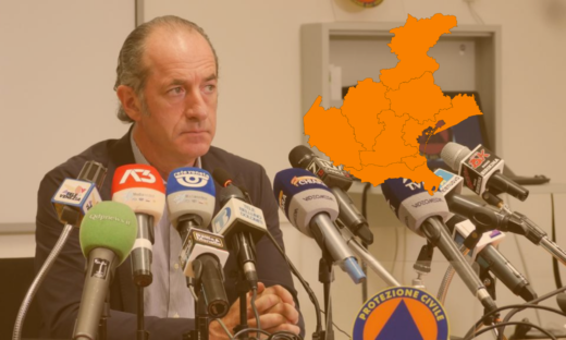 Coronavirus. Zaia ammette il rischio di tornare in arancione per il Veneto