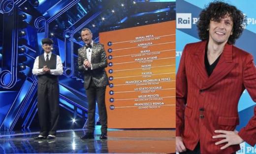 Sanremo 2021: Ermal Meta vince la seconda serata ed è primo