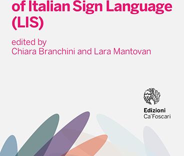 E' uscita la prima grammatica italiana della lingua dei segni.